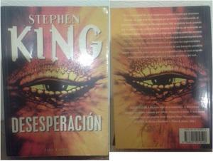 Stephen king desesperación plaza & janés excelente