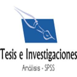 Tesis todos niveles, Redacción Profesional, Análisis SPSS.