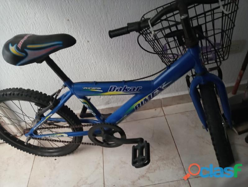 Bici de niño color azul