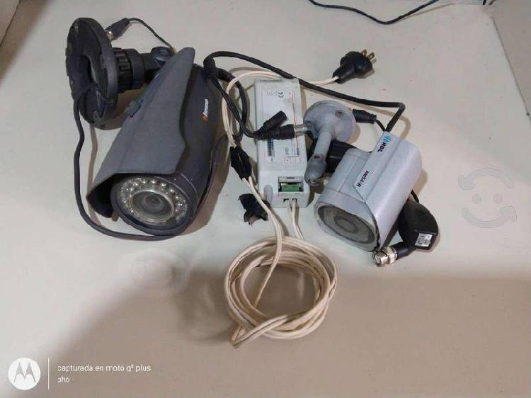 Camaras de video vigilancia usadas