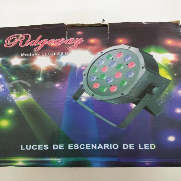 Luces led de escenario