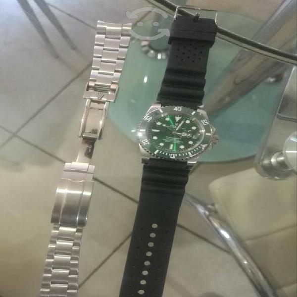 reloj rolex hulk submariner automatico barato