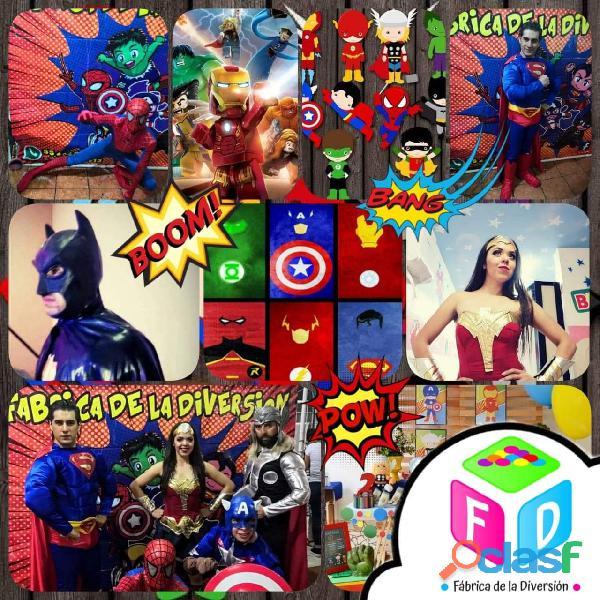 Shows de princesas, super heroes y mas..