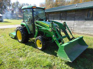 2006 john deere 4520 cab tractor ehydro