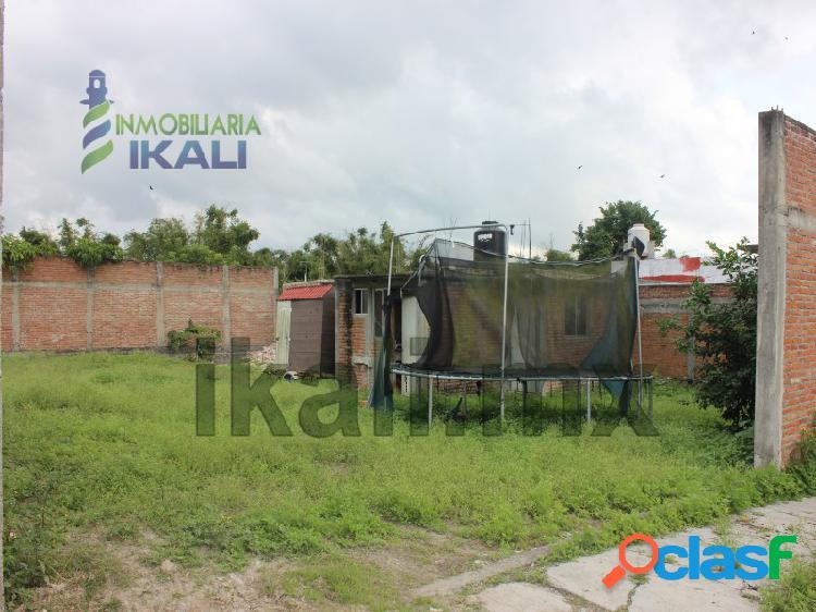 renta terreno 375 m² atrás de centros comer. Tuxpan Veracruz, Casa Bella
