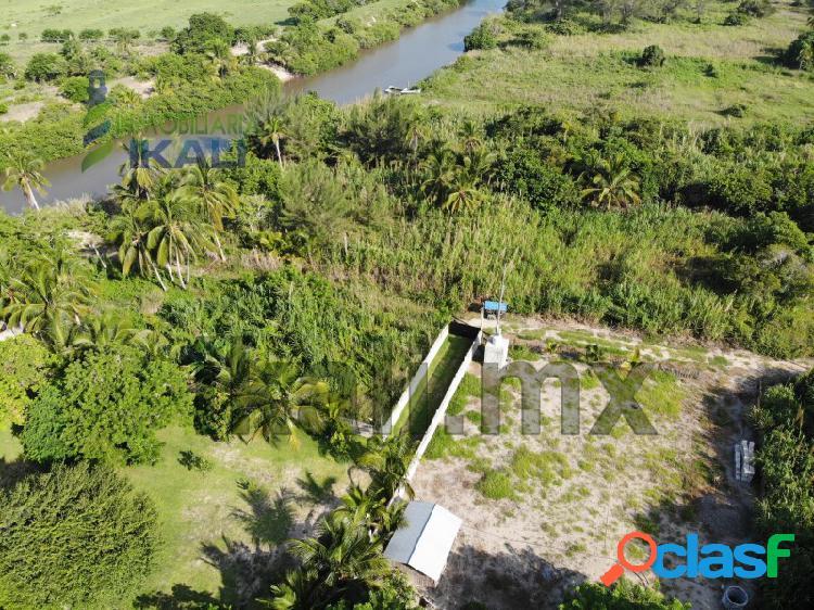 Venta terreno 1009 m² col. barra galindo tuxpan veracruz, la barra norte