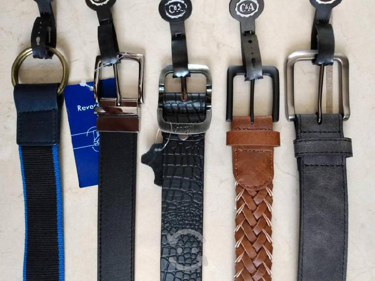 Cinturones nuevos