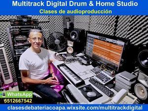 Clases de grabacion y audio produccion musical villa coapa