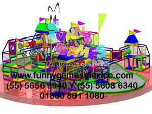 Dedicados a la fabricación de juegos infantiles