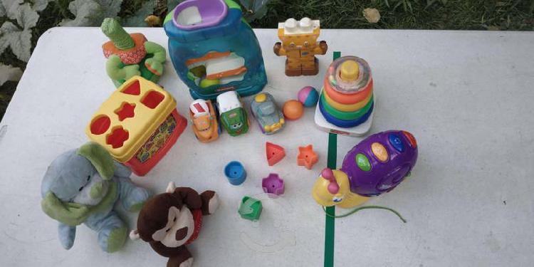 Lote juguetes didácticos bebe todo 400