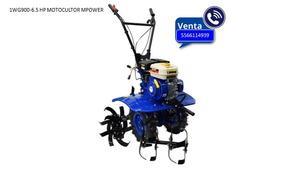 Motocultor mpower con motor 6 hp a gasolina 9