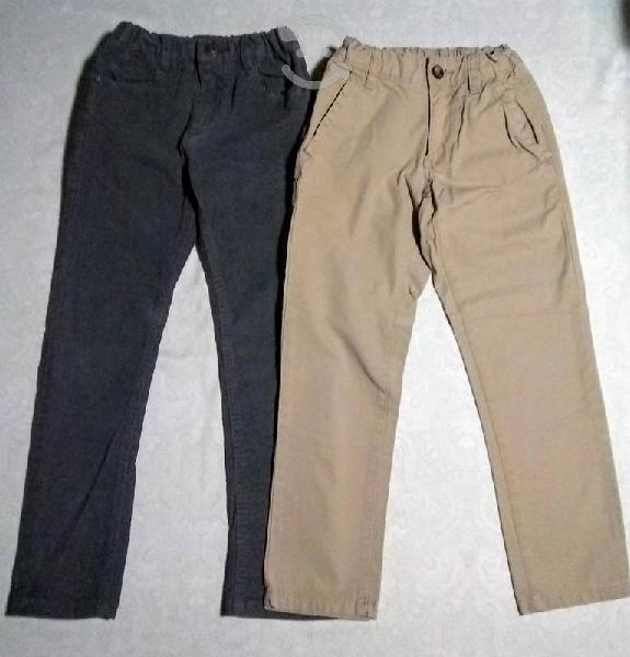 Pantalón de pana, vestir y mezclilla para niño
