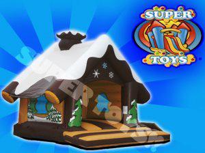 Promocion cabañas inflables en supertoys