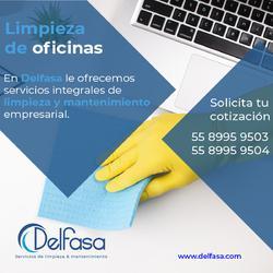 Servicios de limpieza para ofinas