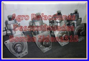 Sidena tractores refacciones 310, t25a, 7500