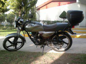 Vendo motocicleta italika ft