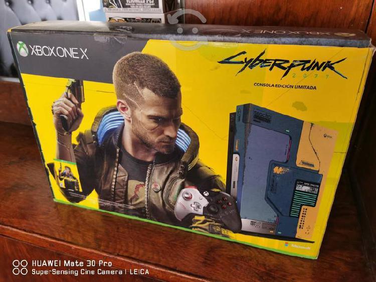 Xbox one x ed.limitada cyberpunk 2077