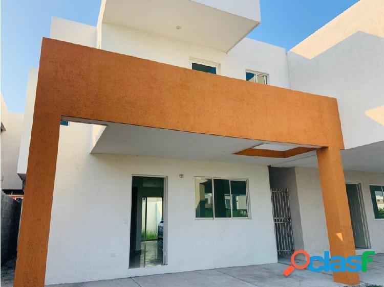 Casa nueva en venta o renta en apodaca