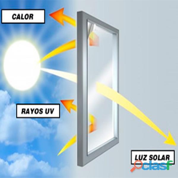 PELÍCULAS DE SEGURIDAD, CONTROL SOLAR, PRIVACIDAD, DECORATIVAS Y AUTOMOTRIZ PARA CRISTALES. 5