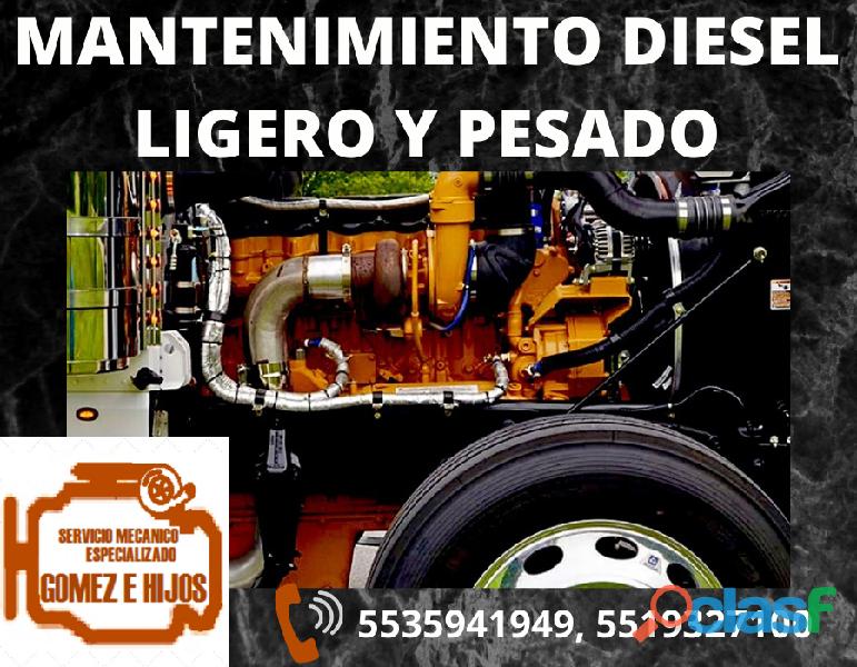 Taller mecánico diesel y gasolina
