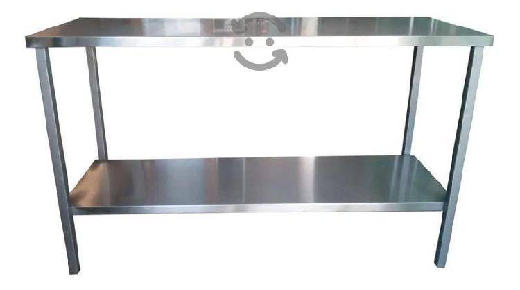 Acero inoxidable mesa de acero restaurant cocina b