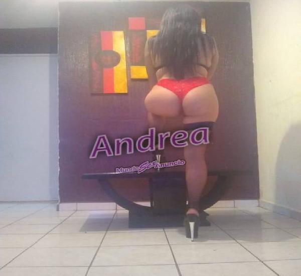 Andrea por tu zona marcame
