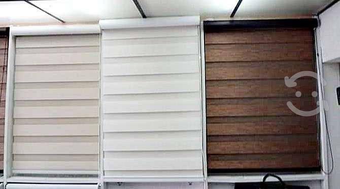 Persianas sheer elegance mod-wood line (shades)