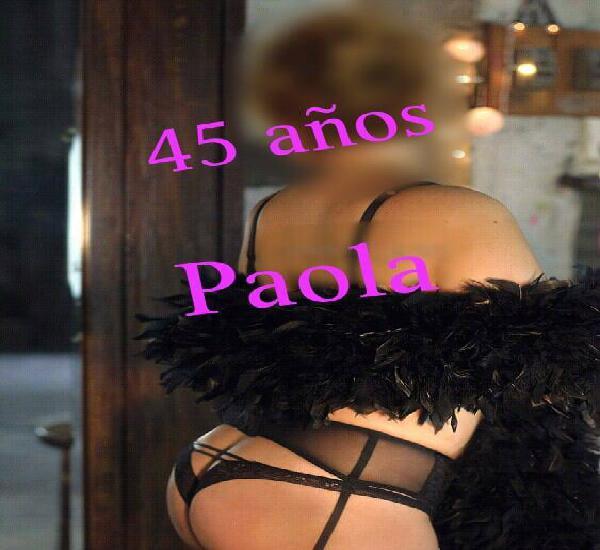 Paola 45 años.. PROMO..$800 incluye habitacion motel