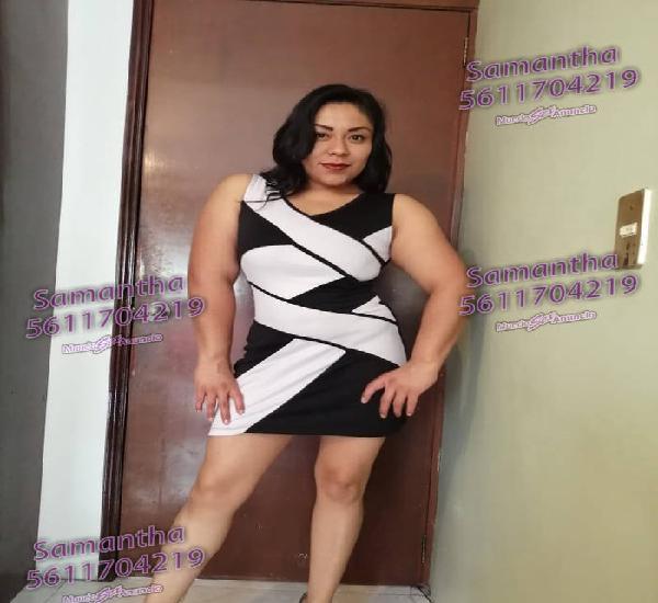 SAMANTHA SOY TOTALMENTE INDEPENDIENTE 30 AÑOS, TE ESPERO AM