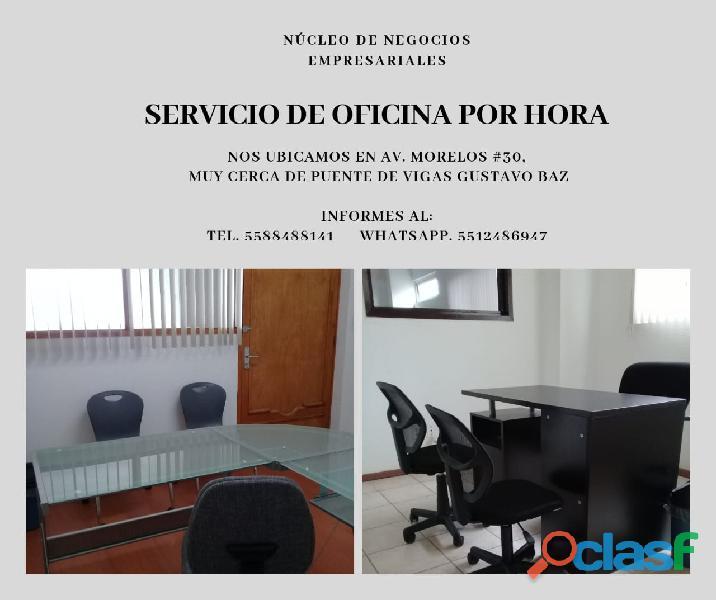Oficinas para despachos, consultorios a partir de una hora