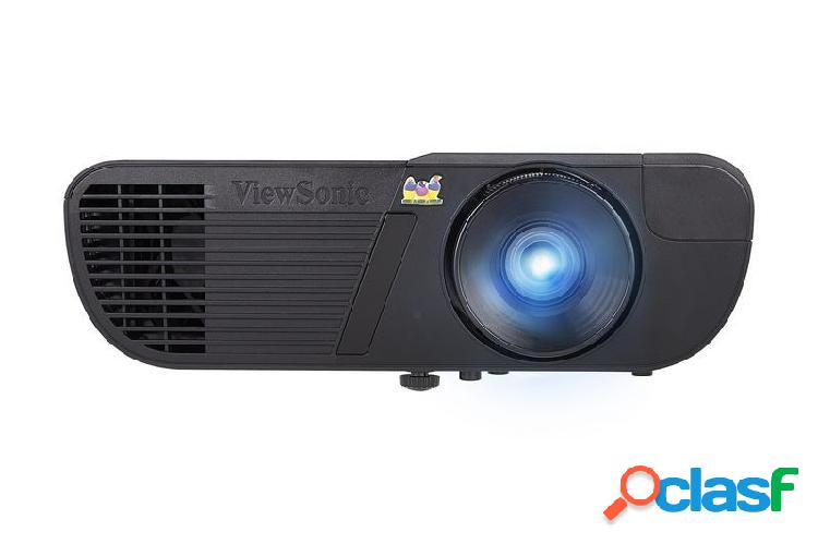 Proyector viewsonic lightstream pjd6352 dlp, xga 1024 x 768, 3500 lúmenes, 3d, inalámbrico (requiere adaptador inalámbrico, se vende por separado), negro