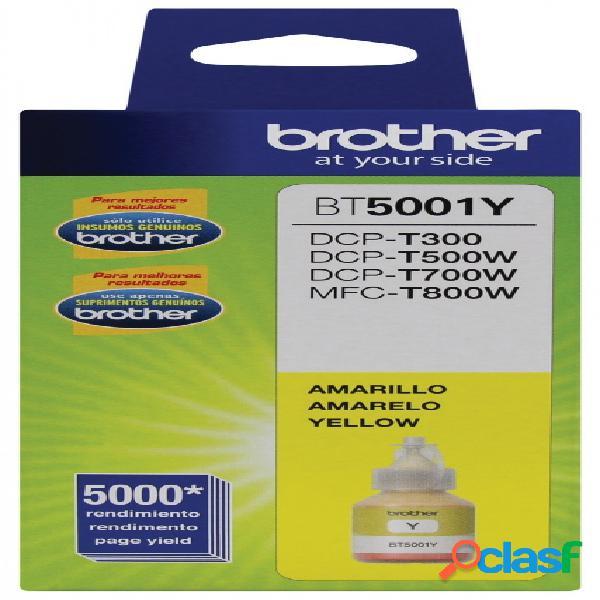 Tanque de tinta brother bt5001y amarillo, 5000 páginas