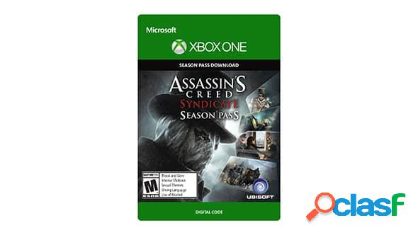 Assassin's creed syndicate season pass, xbox one - producto digital descargable
