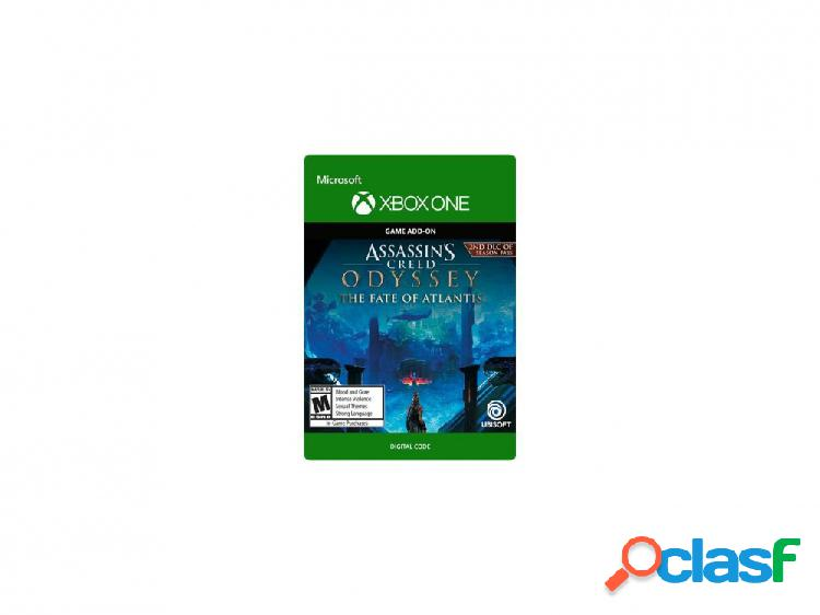 Assassin's creed odyssey: the fate of atlantis, xbox one - producto digital descargable