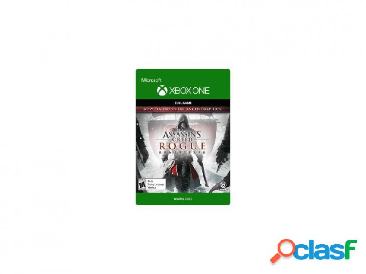 Assassin's creed rogue, xbox one - producto digital descargable
