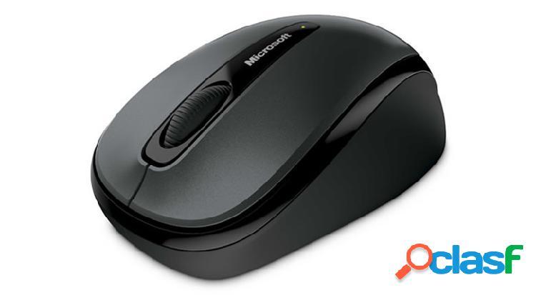 Mouse microsoft wireless mobile 3500 bluetrack, inalámbrico, usb, negro