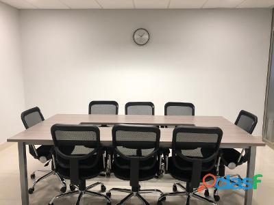Oficinas ejecutivas acondicionadas
