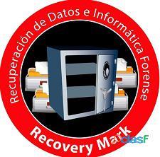 Recuperación de datos informáticos de discos duros y dispositivos de almacenamiento