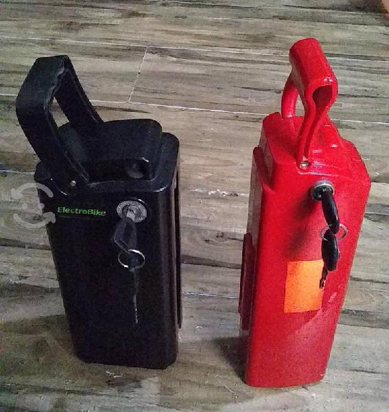 2 baterías de bicicleta eléctrica electrobike