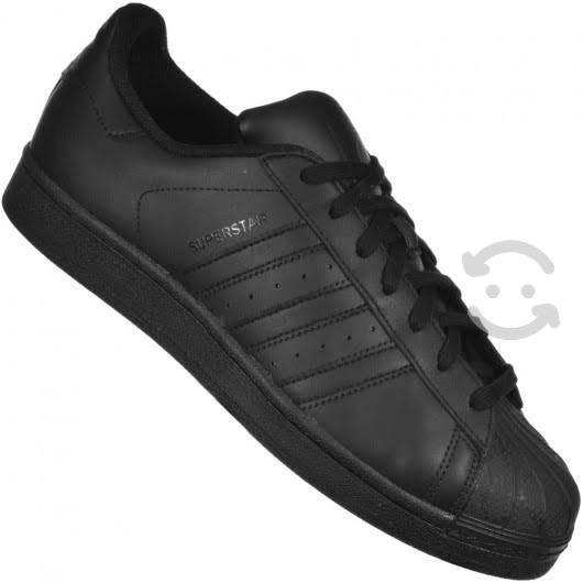 Adidas super star negro talla 6.0 mx