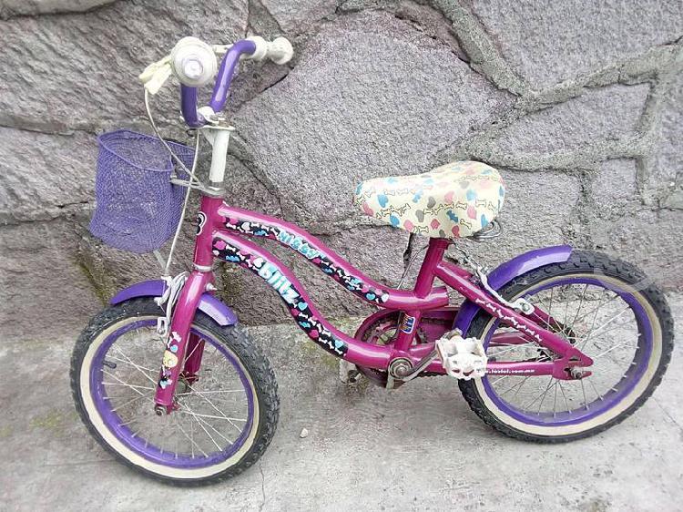Bici para niña r16