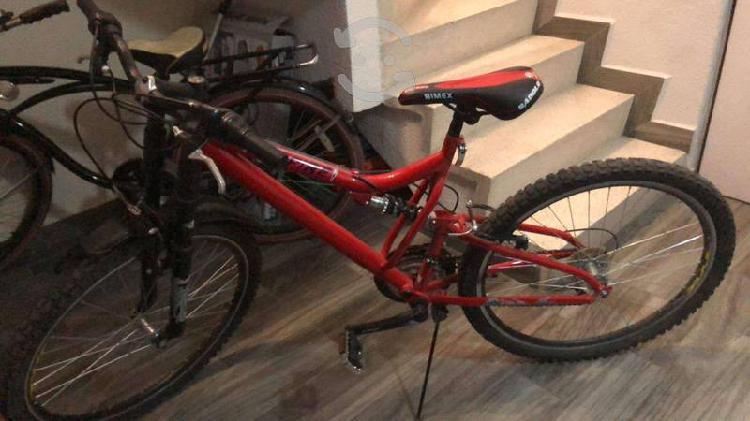 Bicicleta semi nueva marca bimex 18 velocidades