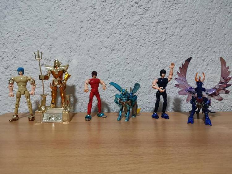 Caballeros del zodiaco varios armadura metálica