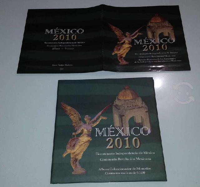 Coleccion de monedas $5 independencia bicentenario