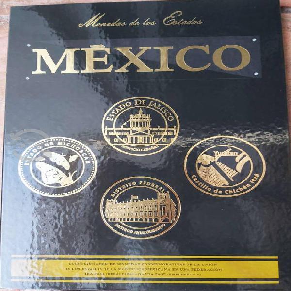 Coleccionador de monedas $100 d los estados méxico