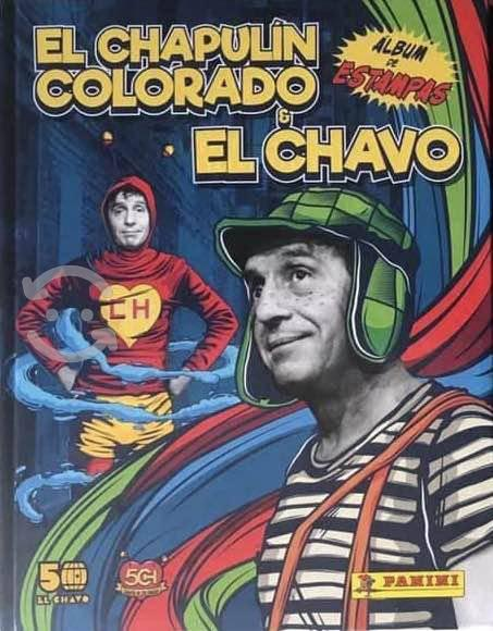 Chapulín colorado y chavo del ocho álbum completo