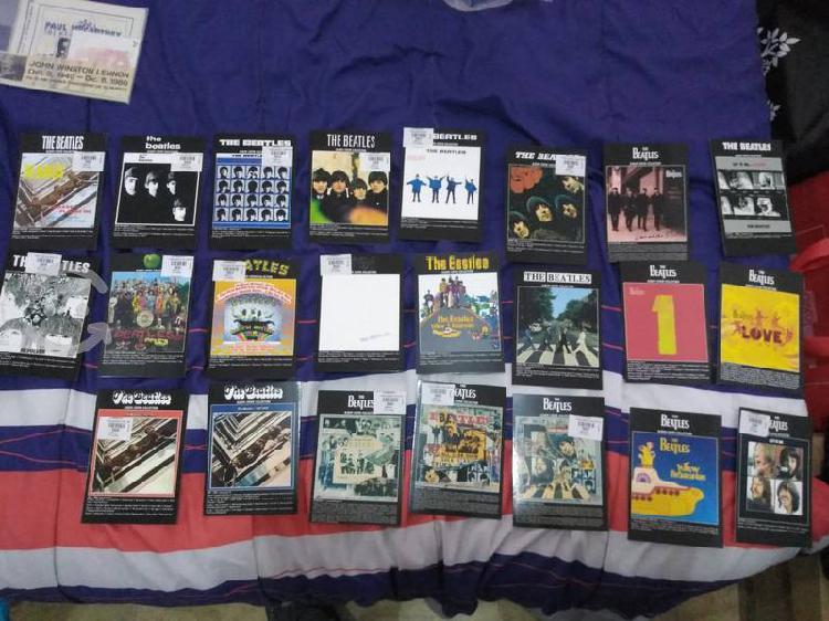 Colección completa de postales Beatles