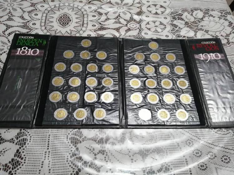 Colección monedas 5 pesos bicentenario