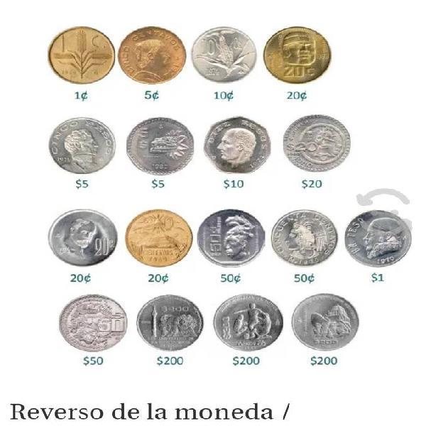 Compro monedas niquel