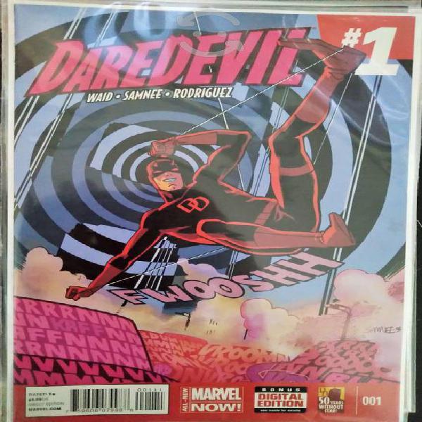 Daredevil 1 y 2 marvel now en inglés